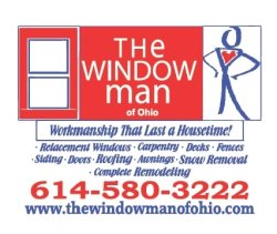 The Window Man of Ohio a division of T.A.Hamilton Builders LLC Logo