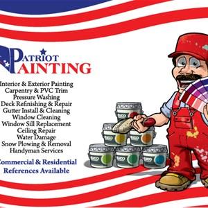 Patriot Painting USA, LLC Logo