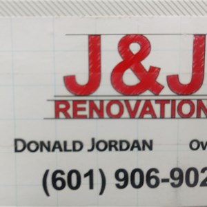J And J Custom Renovations Logo