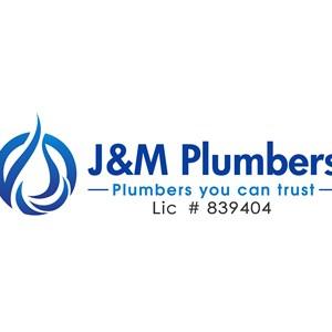 J&M Plumbers Logo