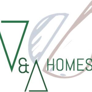 V & A Homes Logo
