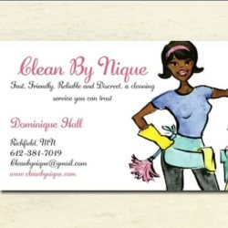 Clean By Nique Logo