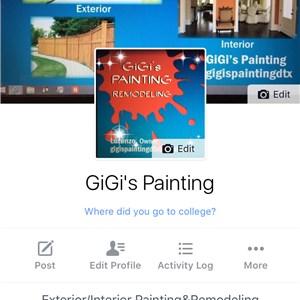 Gigis Painting Logo