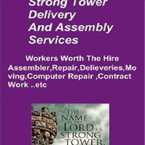 Strong Tower Moving And Assembly Logo
