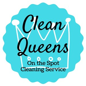 Clean Queens On the Spot Cleaning Logo