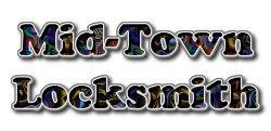 Mid-town Locksmith Logo