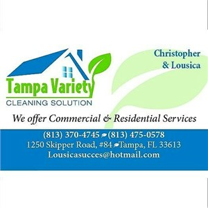 Tampa Variety Cleaning Solution Logo