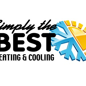 Simply The Best Heating and Cooling Logo