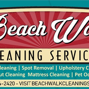 Beach Walk Cleaning Services Logo