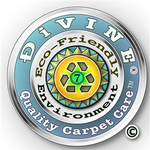 Ðivine Quality Carpet Care Logo
