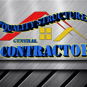 DQUALITY STRUCTURES General Contractor. Logo