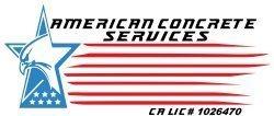 American Concrete Services Logo