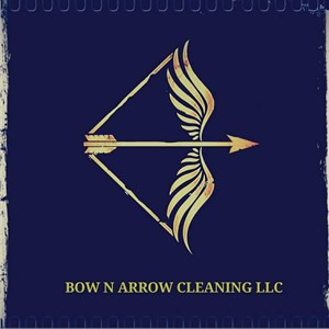 Bow N Arrow Cleaning Company Logo
