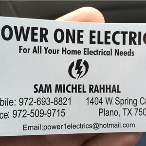 Power One Electric Inc Logo