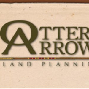 Otter & Arrow Land Planning P Logo