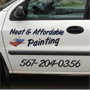 Neat & Affordable Painting Logo