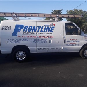 Frontline air refrigeration and plumbing Logo