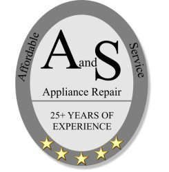 A and S Appliance Repairs and Installs Logo