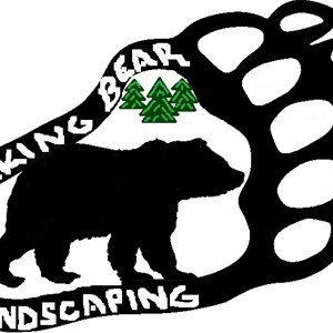 Walking Bear Landscaping & Tree Services Logo