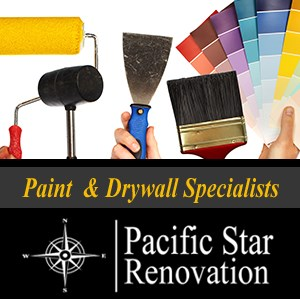 Pacific Star Paint & Renovation Logo