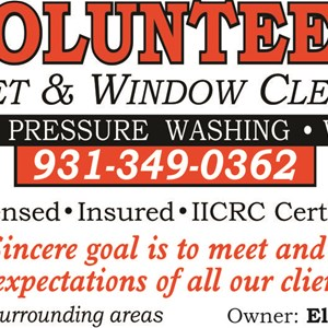 Volunteer Carpet & Window Cleaning Cover Photo