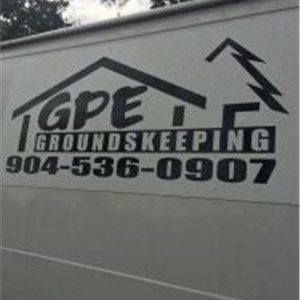 GPE GroundsKeeping, Inc.Groundskeeping, Inc. Logo