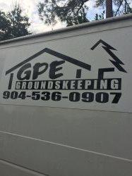 GPE GroundsKeeping, Inc.Groundskeeping, Inc. Logo
