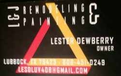 L & J Remodeling And Painting Logo