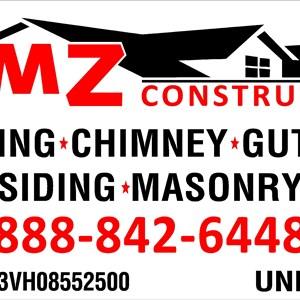 Mz construcción Logo