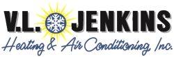 V. L. Jenkins Heating & Air Conditioning, Inc. Logo