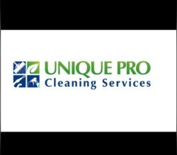UNIQUE PRO  Cleaning Services Logo