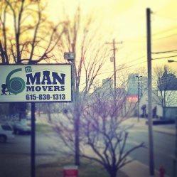 6th Man Movers Logo