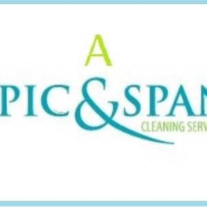 A Spic and Span Cleaning Service Logo