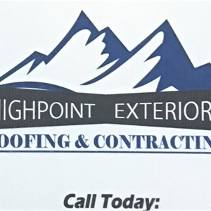 High Point Exteriors Roofing & Contracting Logo
