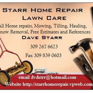 Starr Home Repair & Lawn Logo