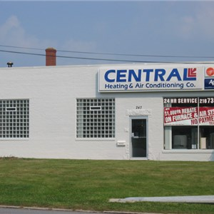 Central Heating & Air Conditioning Co. Logo