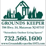 GROUNDS KEEPER, inc. Logo