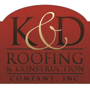 K & D Roofing & Construction Co Logo