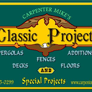 Carpentermikes Home Projects Logo