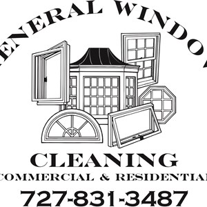 General Window Cleaning Logo