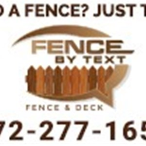 Fence By Text Logo