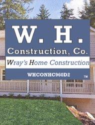W H Construction Co Logo