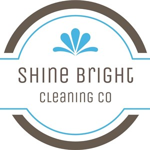 Shine Bright Cleaning Co Logo