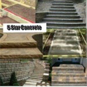 Five Star Concrete Logo