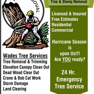 Wades Tree Service Logo
