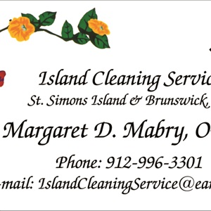 Island Cleaning Service Logo
