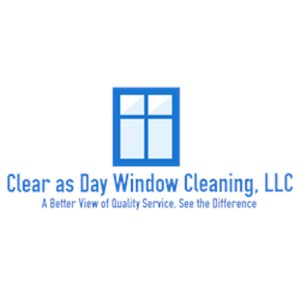 Clear as Day Window Cleaning, LLC Logo