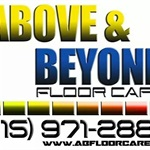 Above & Beyond Floor Care Logo