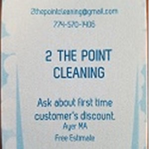 2 the Point Cleaning Logo