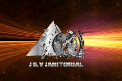 J&V Janitorial Residential And Commercial Services Logo